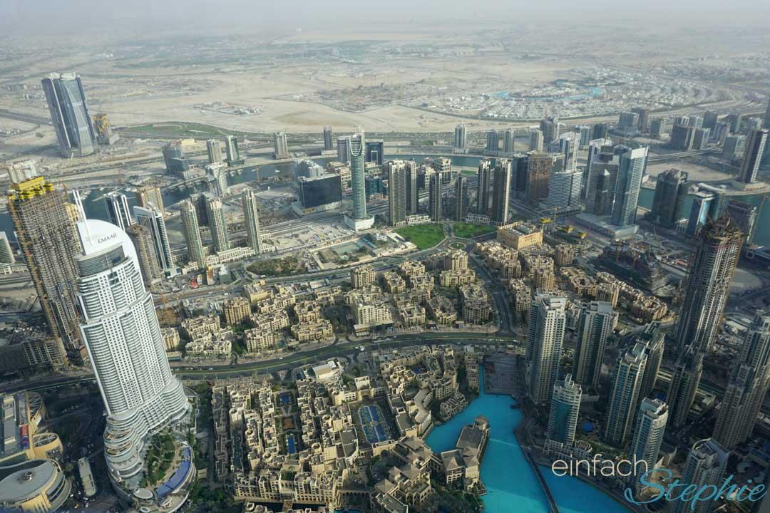Ausflugstipp Dubai - Aufstieg im Burj Khalifa