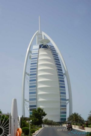 Dubai Urlaub Highlights. Architektur Dubais. Burj al Arab