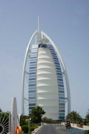 Dubai Urlaub Highlights. Architektur Dubais. Burj al Arab