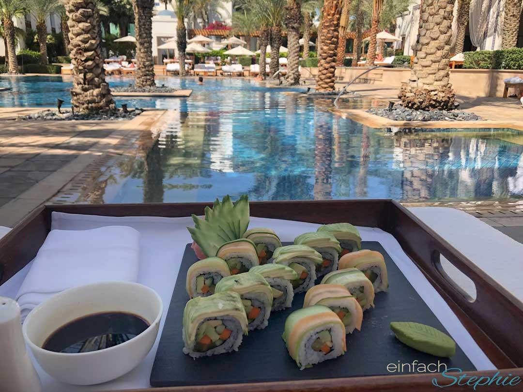 Dubai Urlaub mit Familie, Park Hyatt Hotel am Pool