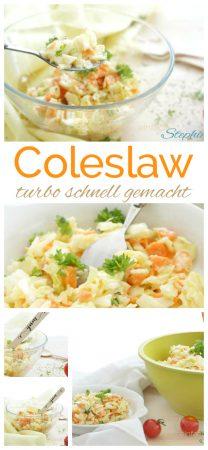 Amerikanischer Coleslaw turboschnell gemacht mit www.einfachstephie.de und viel Liebe