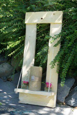 DIY mit Twercs. Gartendeko aus Palette basteln