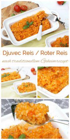 Djuvec Reis nach Geheimrezept. Roter Reis, Paprikareis bei www.einfachstephie.de