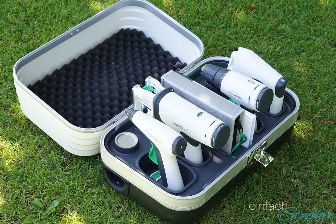 Twercs Koffer zum Basteln, Reparieren, Heimwerken. Akku Werkzeuge