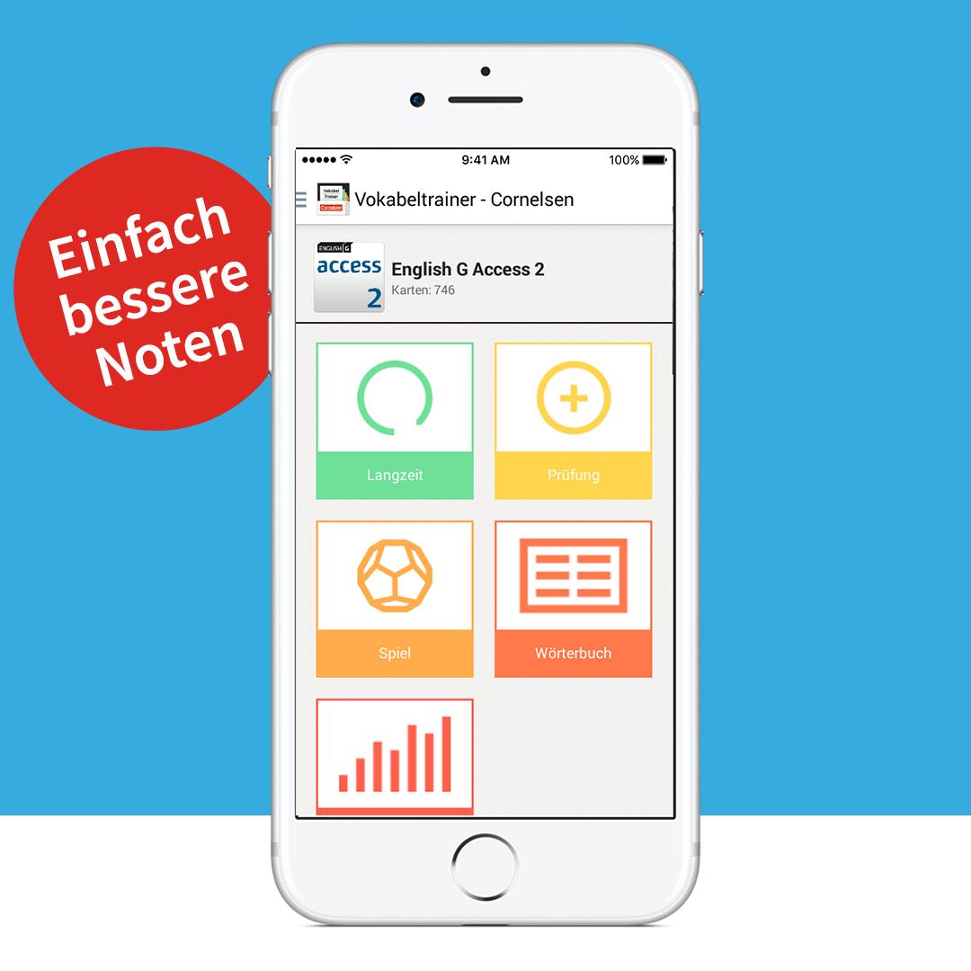 Cornelsen Vokabeltrainer App. Vokabeln einfach lernen (3)