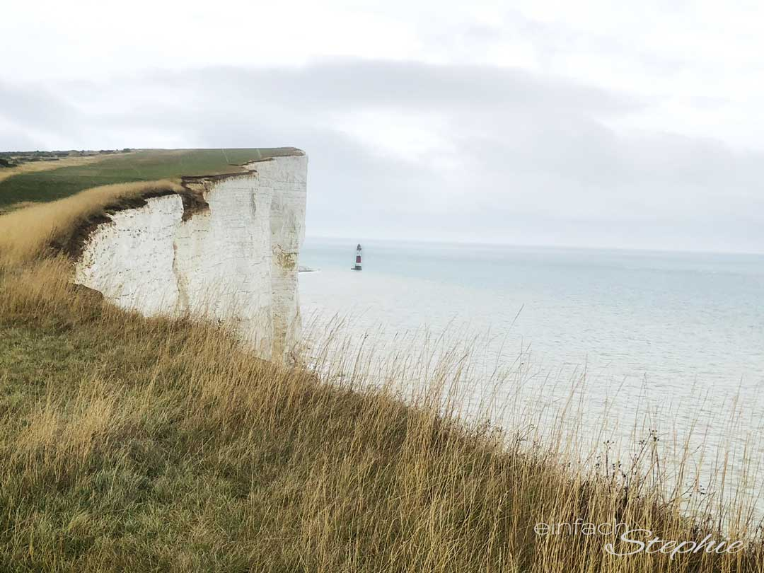 Rundreise England. Brighton, Beachy Head