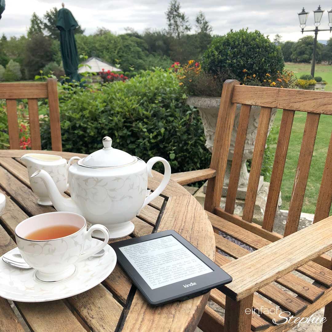 Familienurlaub England. Ausspannen in West Sussex, Horsham. Afternoon Tea