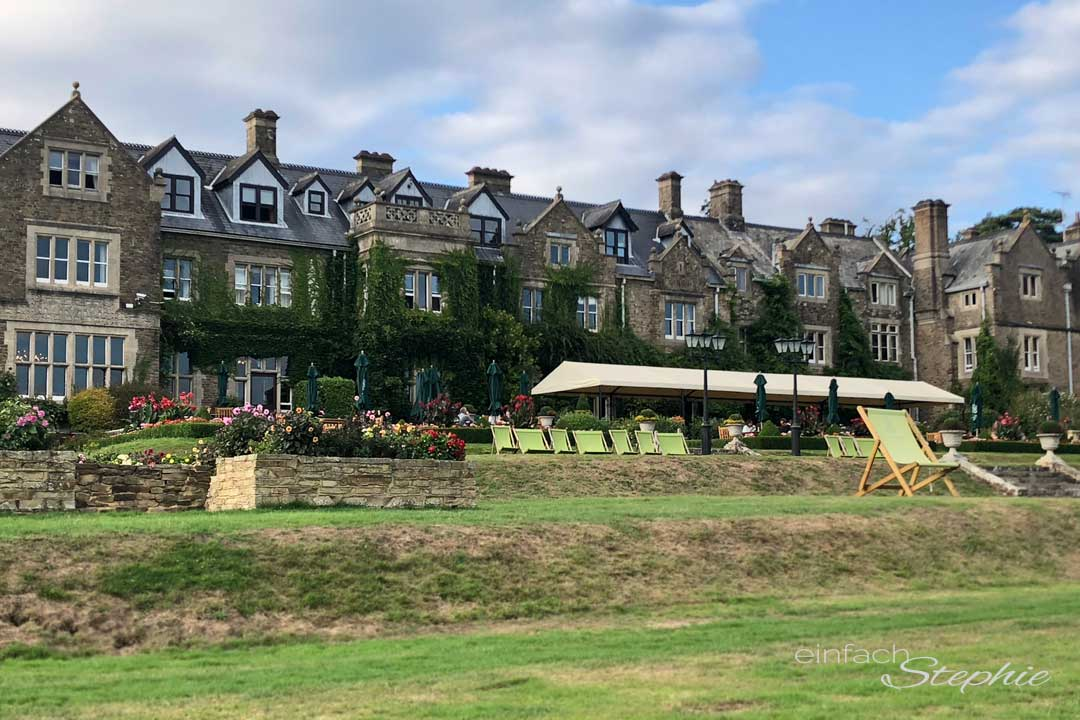 Rundreise England. Hotel South Lodge in Lower Beeding, West Sussex, nahe London.