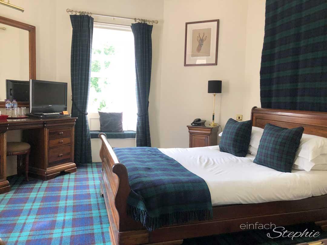Unser Hoteltipp in den Highlands: Bunchrew House. Zimmer Turret