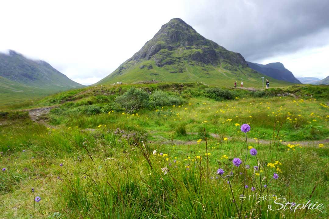 Rundreise durch Schottland mit Kindern. Die Natur der Highlands
