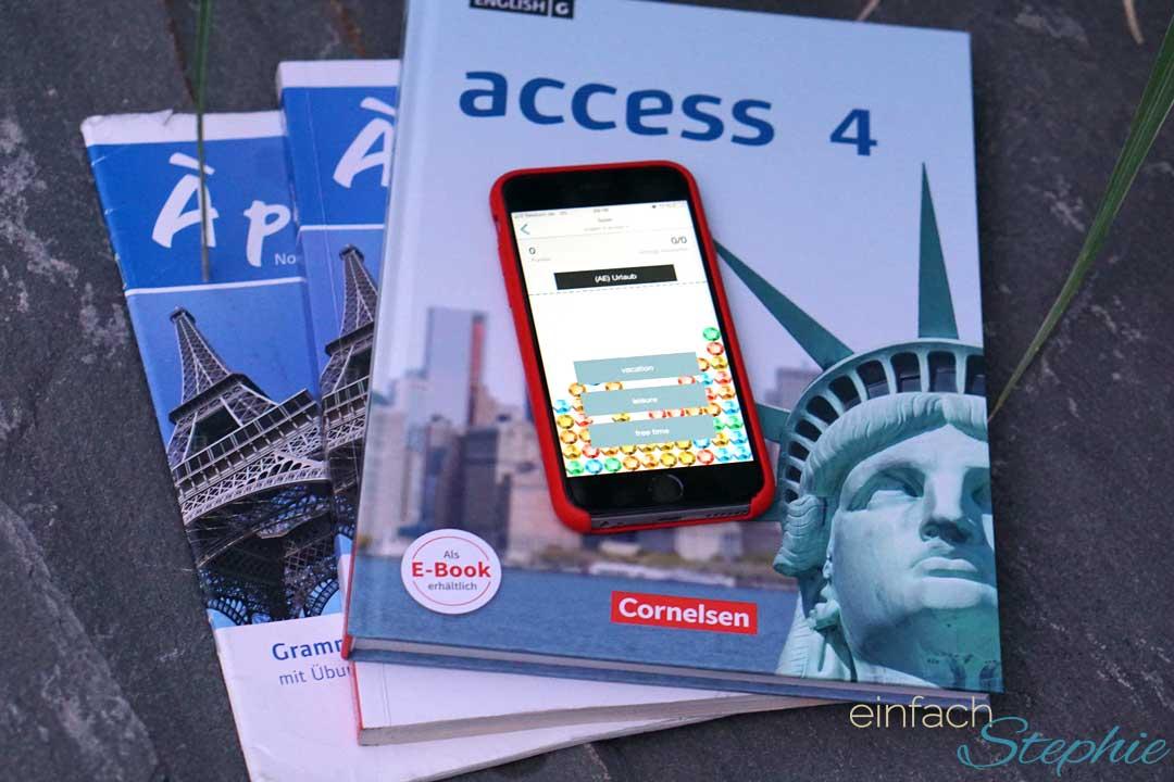 Vokabeln einfach lernen per App. Cornelsen Verlag