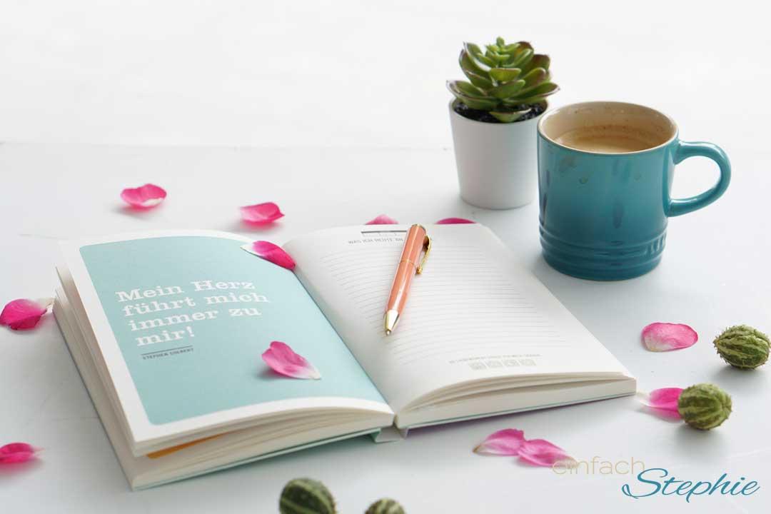 Besonderes Geschenkbuch zur Selbstliebe mit Tipps. Hübsches Eintragbuch von Duden