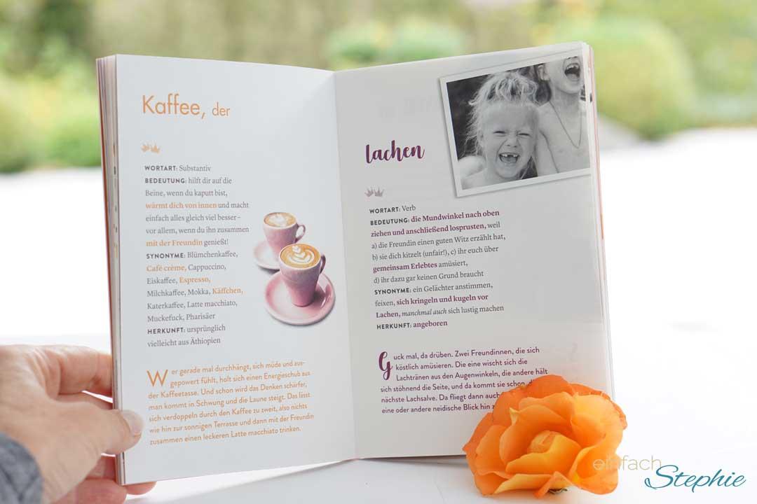 Ein besonderes Geschenk für die beste Freundin. Geschenkbuch Freundinnen vom Duden Verlag