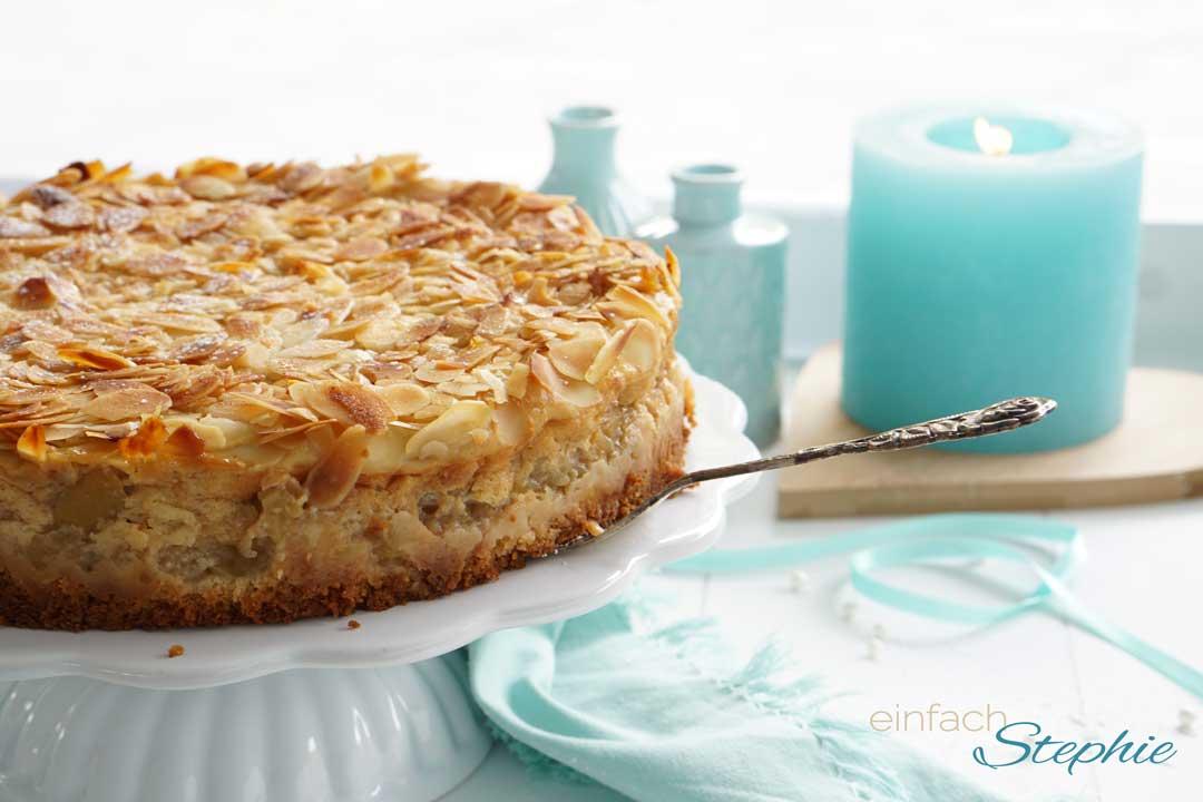 Apfelkuchen Mit Quark Vegan Schnell Einfach Einfach Stephie