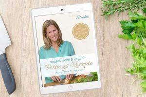 Vegane und vegetarische Festtagsrezepte im eBook kostenlos ausdrucken