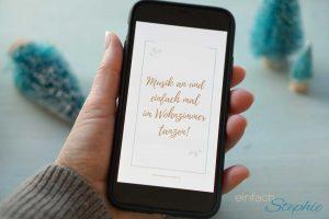 Wohlfühl-Adventskalender WhatsApp kostenlos nutzen