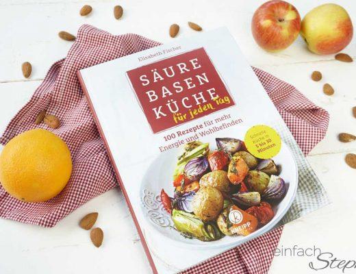 Säure-Basen-Küche schnell gekocht in 5 - 30 Minuten. Rezension von Blog einfach Stephie