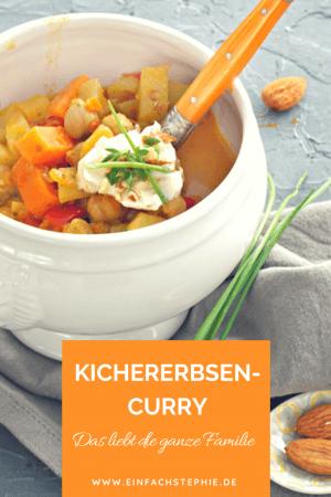 Bestes Kichererbsen-Curry mit Kartoffeln von www.einfachStephie.de
