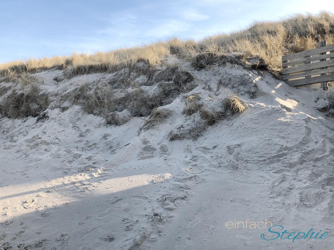 Kleine Auszeit auf Sylt. Strand in Westerland