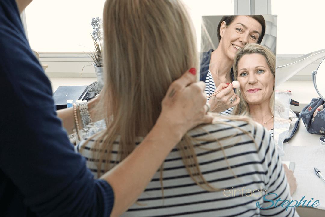 Faszinierendes Beautycoaching mit der Schminktante Anja