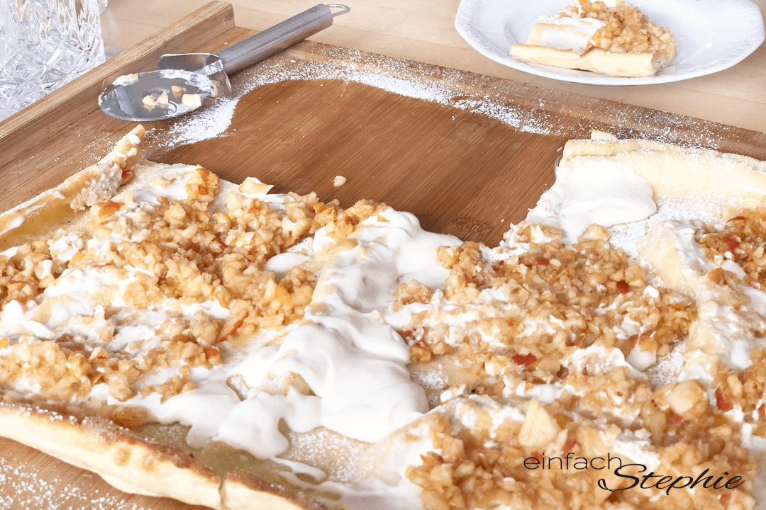 Apfelpfannekuchen aus dem Ofen von einfachstephie.de