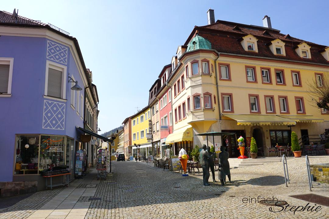 Basenfasten in Bad Brückenau. Innenstadt