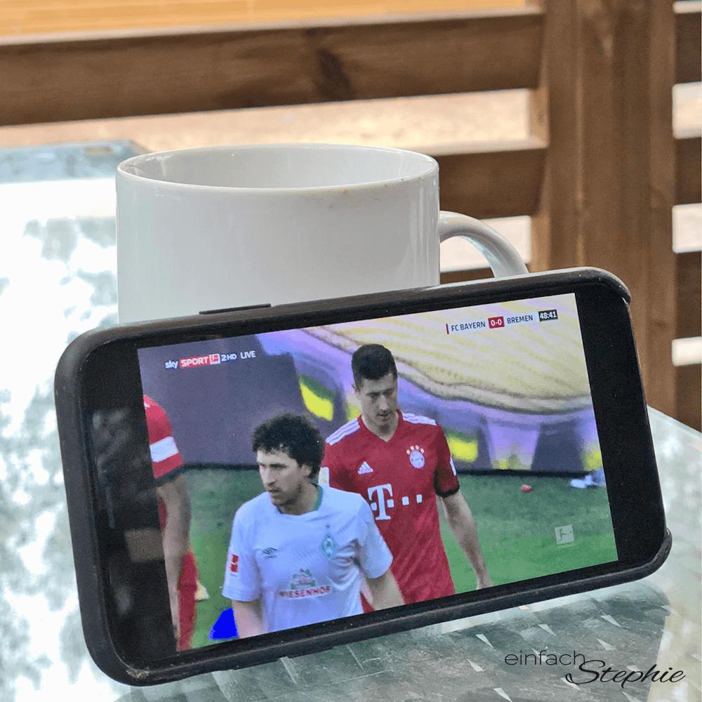 Camper-Life. Bundesliga am Smartphone