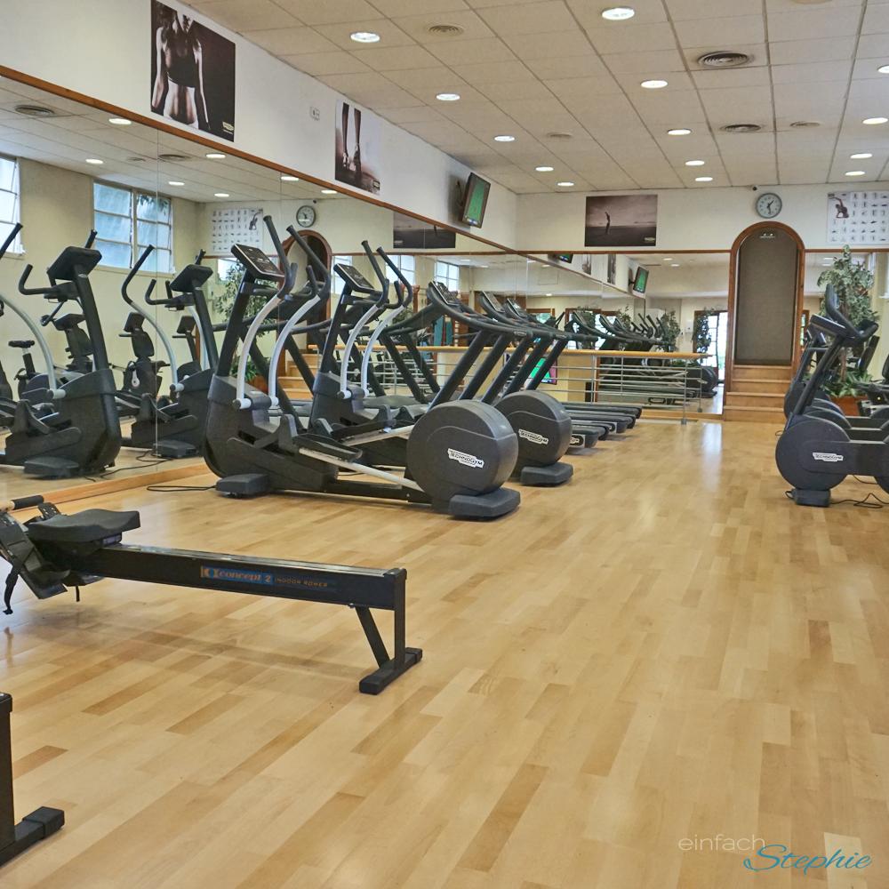 Fitness Studio am Glamping-Platz in Spanien