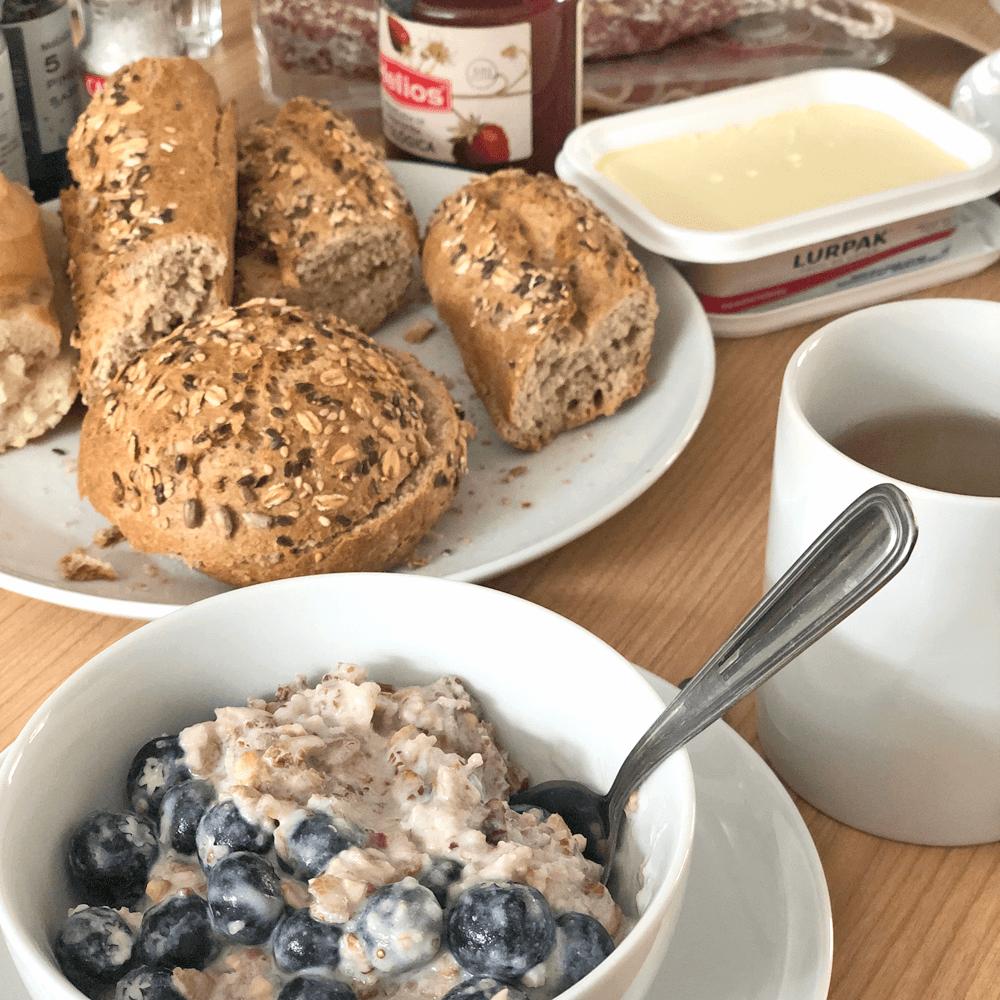 Glamper-Life. Vollkommendes Frühstück