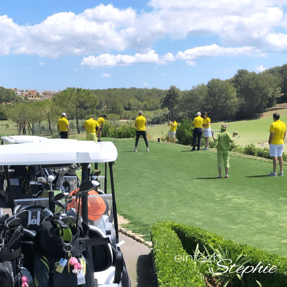 Golfen mit Freunden. BVB Golftour auf Mallorca