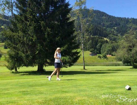 Golfsport Anfänger haben auch schon Spaß