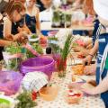 Mit Kindern kochen. Gesundheit erziehen