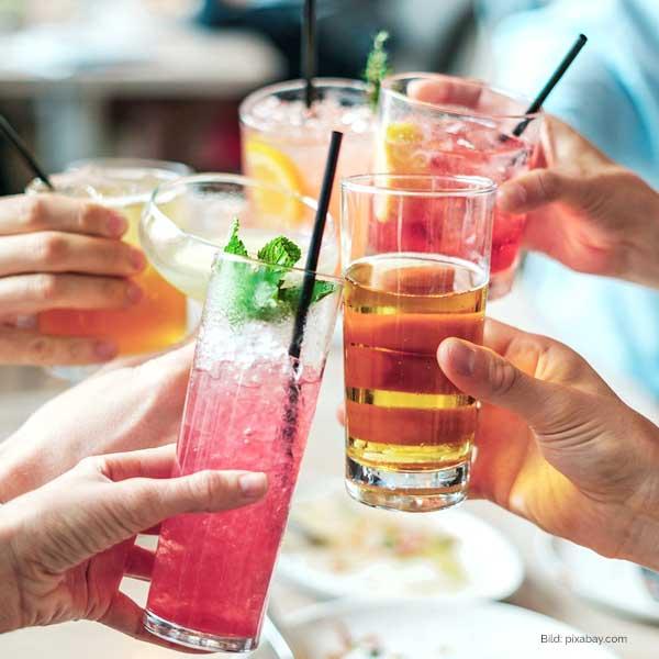 Alkoholfrei auf Partys - eine Herausforderung