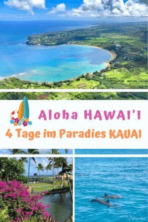 Pinterest Pin Hawaii, 4 Tage Kauai