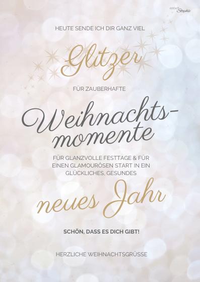 Weihnachtsgrüße per Whatsapp senden. Kostenloser Download bei einfachstephie.de