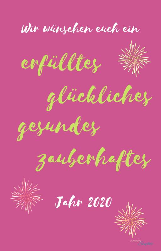 Whatsapp Silvester Wünsche 2019-20 zum neuen Jahr kostenlos downloaden bei einfachstephie.de