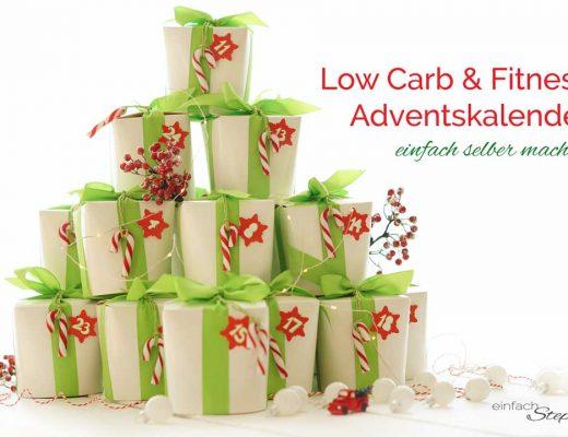 Low-Carb und Fitness Adventskalender schnell selber machen. Titelbild
