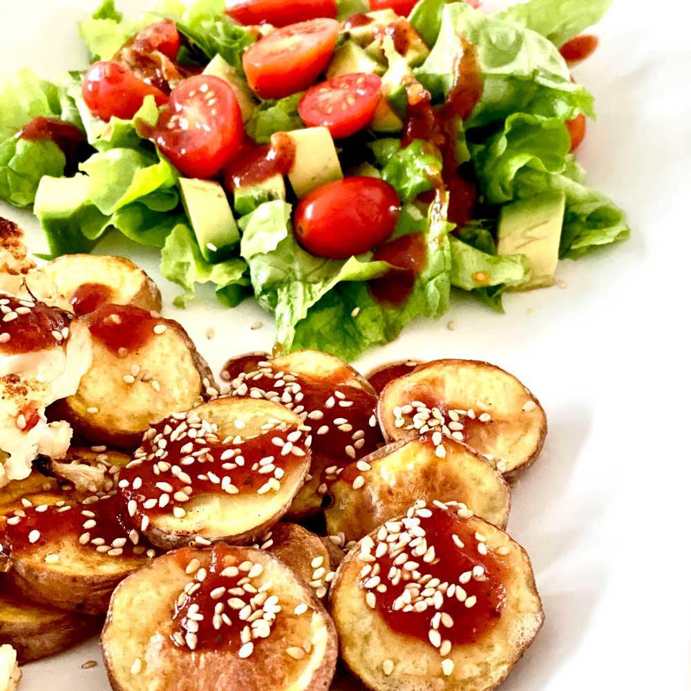 Ofengemüse mit 2-in-1 Tomatensauce zum Basenfasten