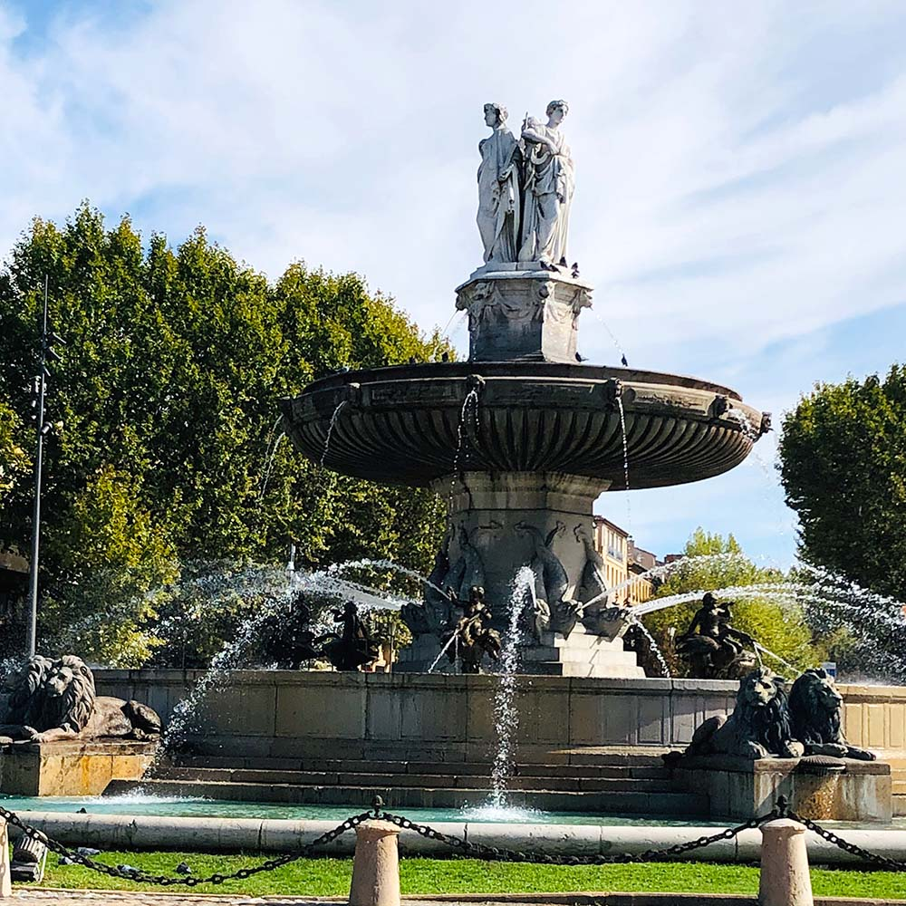 Praktikum in Frankreich buchen für Jugendliche mit france4fans. Aix-en-Provence