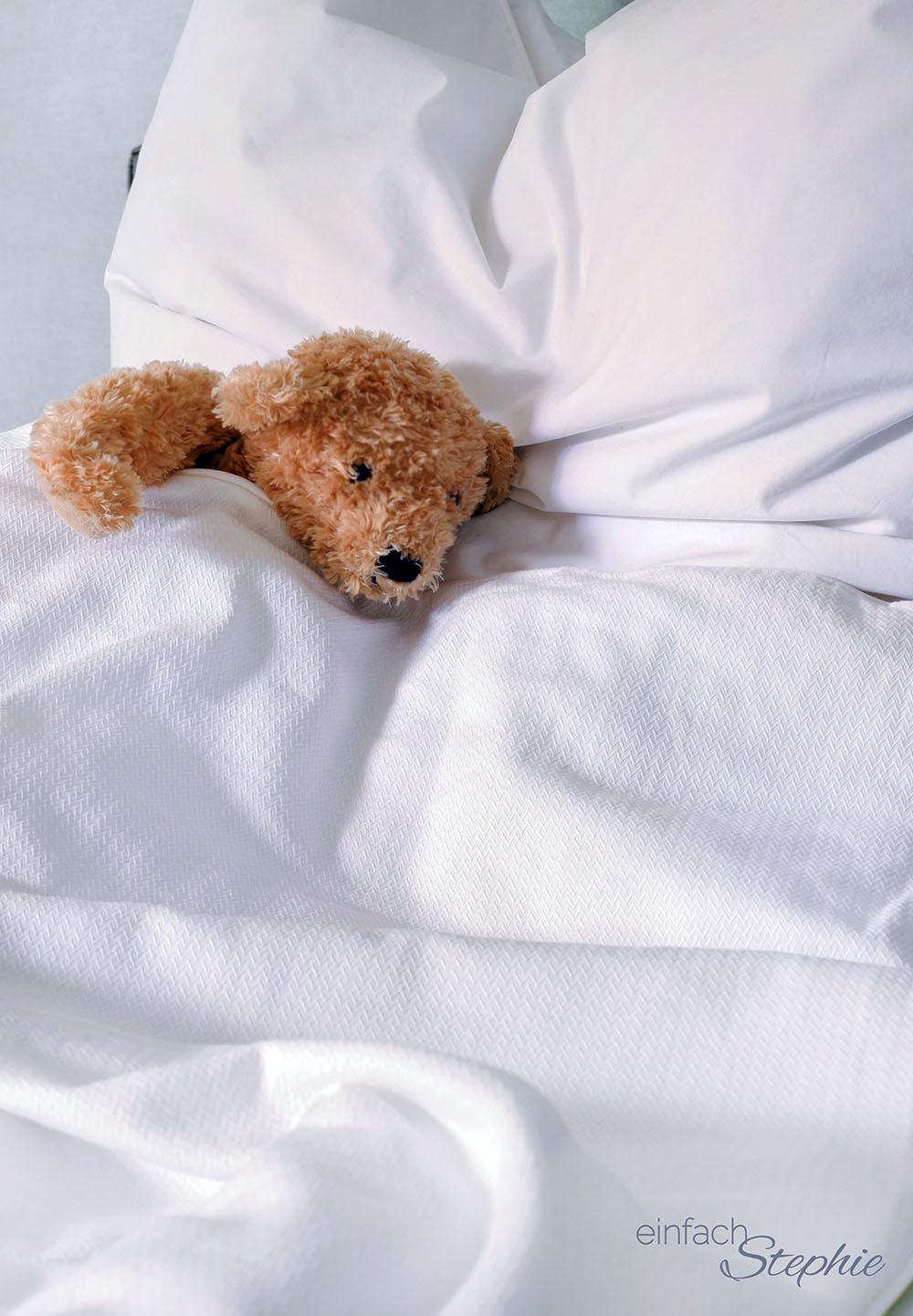 Levia Gewichtsdecke Schlafkomfort Test