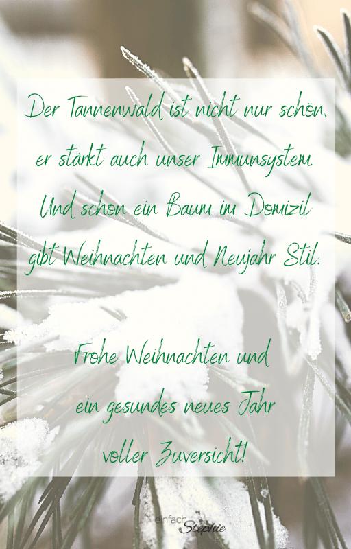 WhatsApp Weihnachtsgrüße Weihnachtskarte 2020 kostenloser Download. Tannenwald