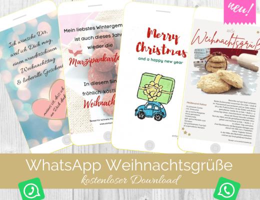 WhatsApp Weihnachtskarten Weihnachtsgrüße 2020 Titelbild
