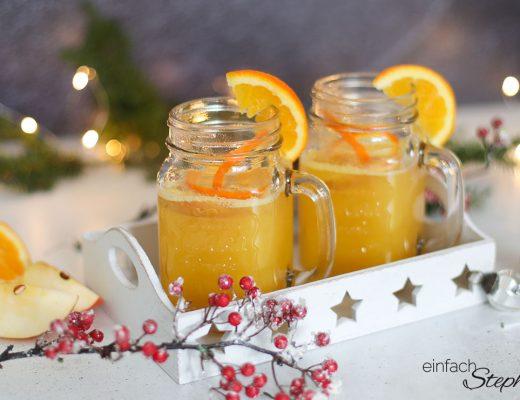 Glüh-Gin selber machen. Das leckere Heissgetränk zu Weihnachten Silvester Wintergrillen