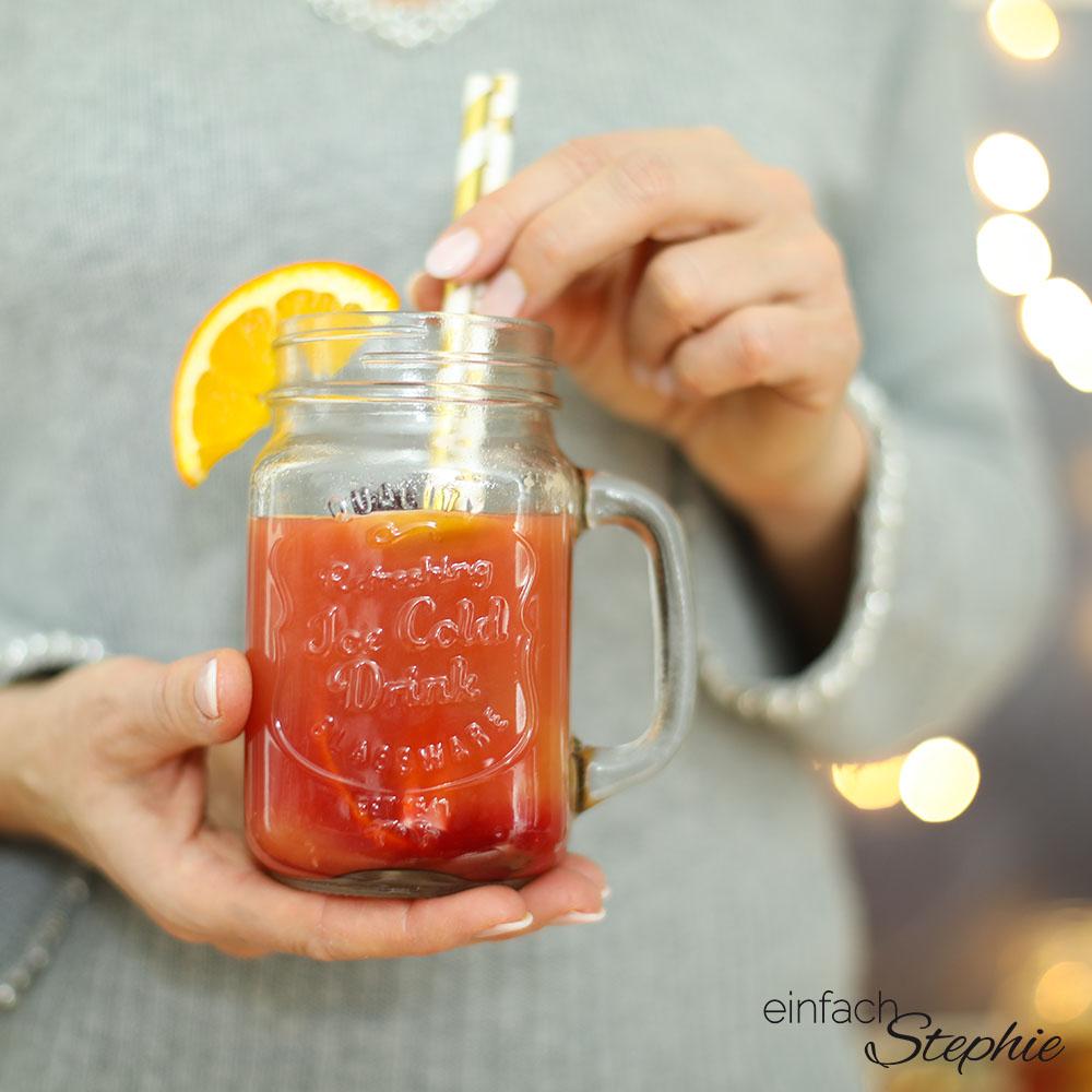 GlühGin selber machen. Das leckere Getränk zu Weihnachten Silvester Wintergrillen