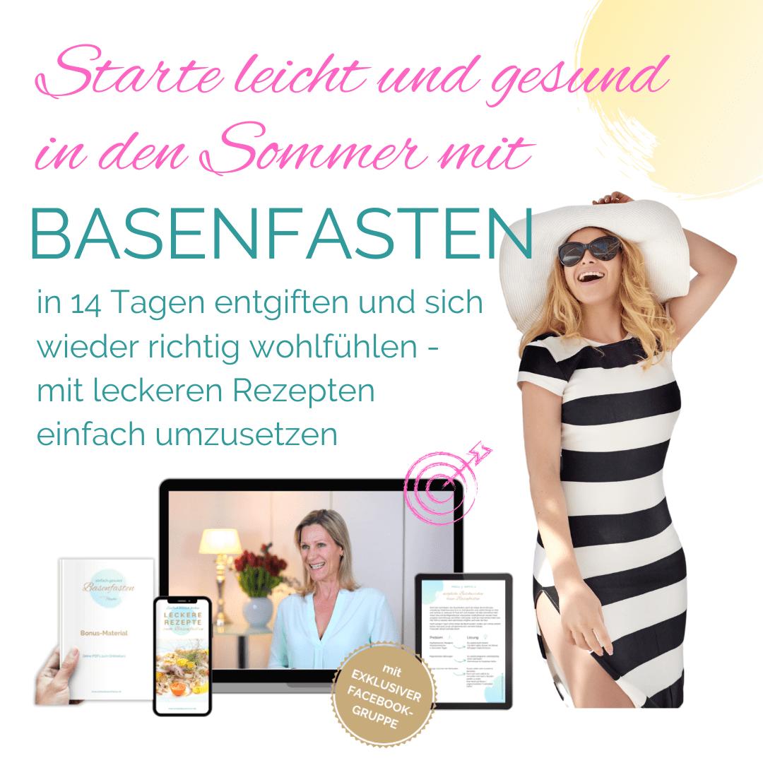 Sommerfit mit Basenfasten. einfachbassenfasten.de